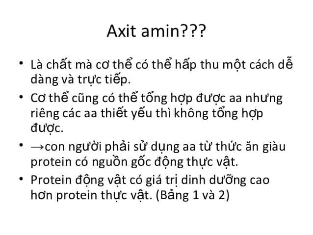 axit admin là gì