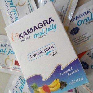 Kamagra Oral Jelly 100mg Dạng Nước