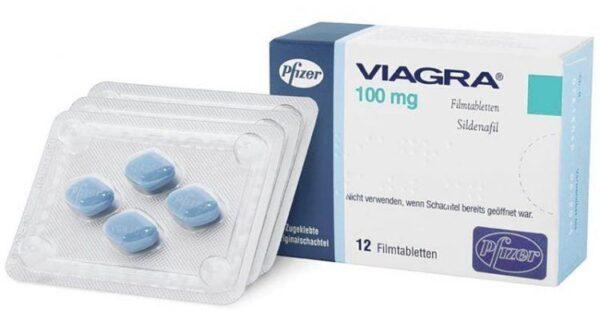 Sildenafil 100mg (Viagra Mỹ) - 60.000VND